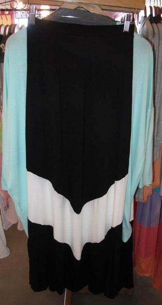 tank top skirt giraffe grey top nerd maxi skirt black and white chevron