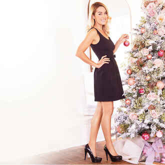 dress holiday season lauren conrad party little black dress black