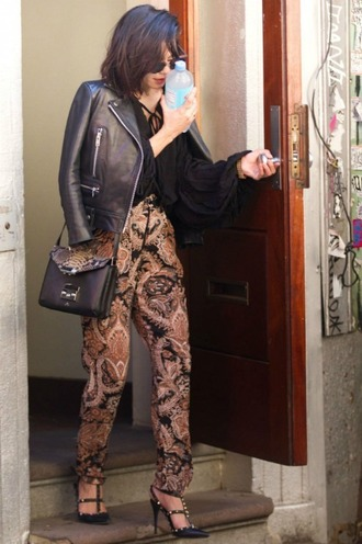 shoes pants pumps vanessa hudgens jumpsuit