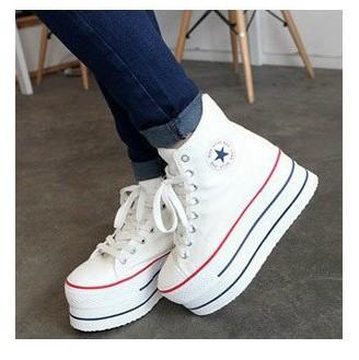 5d6b1f692c8 Womens thick high heel sneakers high tops womens sneaker 2012 platform  shoes discount jeffrey campbell black ...