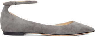 flats suede grey shoes