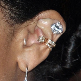 jewels piercing ear piercings ear cuff