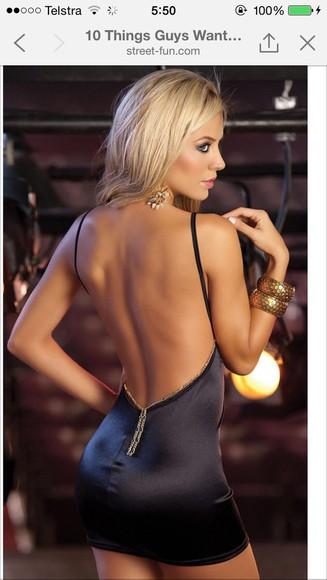sexy mini dress sexy dress clubwear little black dress backless dress