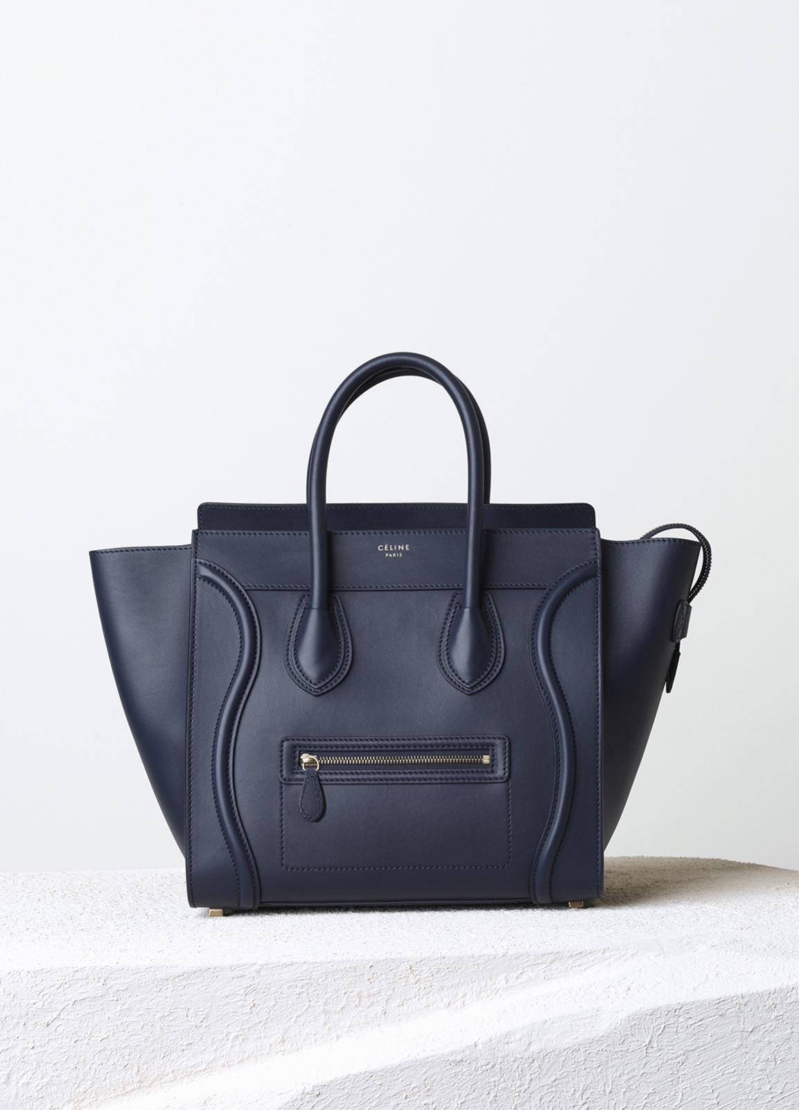 Mini Luggage Handbag in Smooth Calfskin