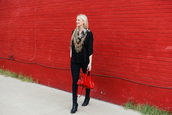 style archives | the style scribe,blogger,top,scarf,jeans,bag,shoes,jewels,make-up