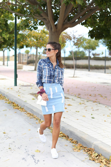 seams for a desire blogger skirt shoes bag sunglasses