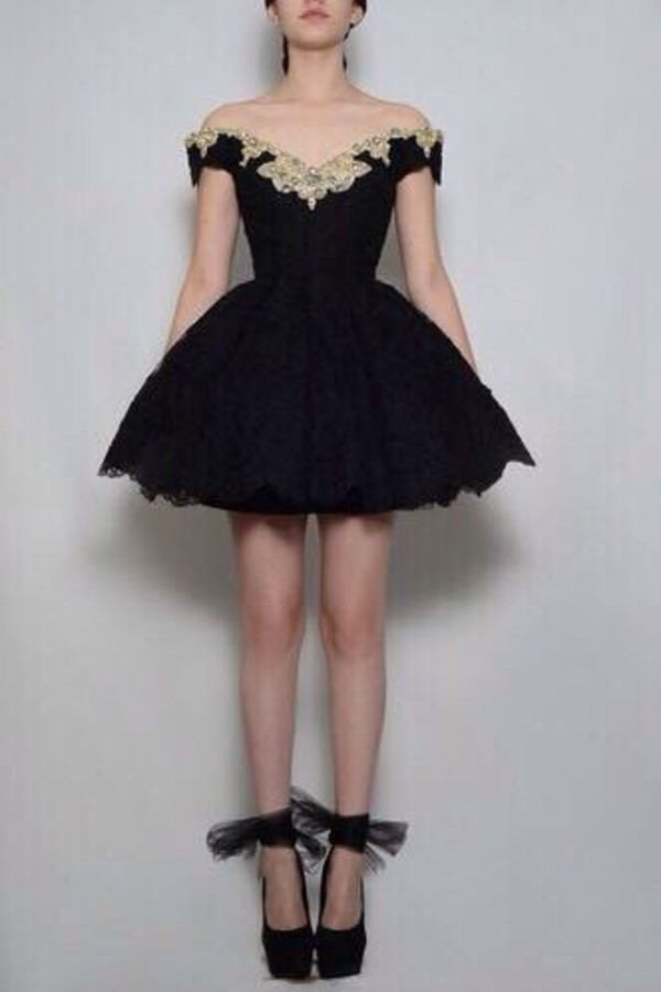 Dress Black Tumblr Prom Black Dress Lace Dress