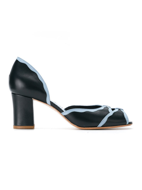 Sarah Chofakian women pumps blue shoes