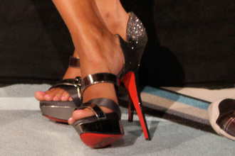 shoes high heels strapped high heels open toes chrome high heels