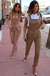 pants,kylie jenner,khloe kardashian,jumpsuit,classy,kardashians,jeans