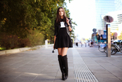 fashion agony,dress,jacket,shoes,bag,jewels,all black everything,blogger,black dress
