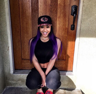 shirt india love california girl cali purplehair snapback all black everything lightskin mixed girl perfection pretty smile hair accessory california girl beauty printed snapback
