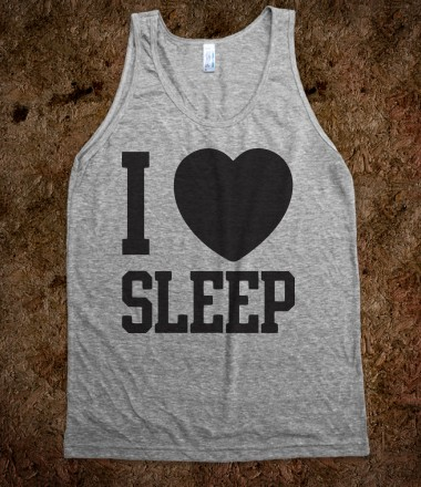 I heart Sleep (Tank) - The Pyramids - Skreened T-shirts, Organic Shirts, Hoodies, Kids Tees, Baby One-Pieces and Tote Bags Custom T-Shirts, Organic Shirts, Hoodies, Novelty Gifts, Kids Apparel, Baby One-Pieces | Skreened - Ethical Custom Apparel