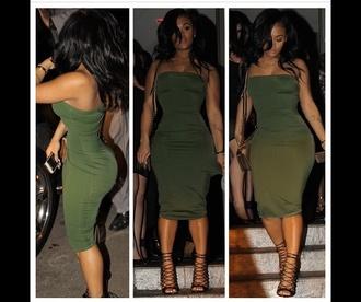 dress clothes dress strapless dress midi dress
