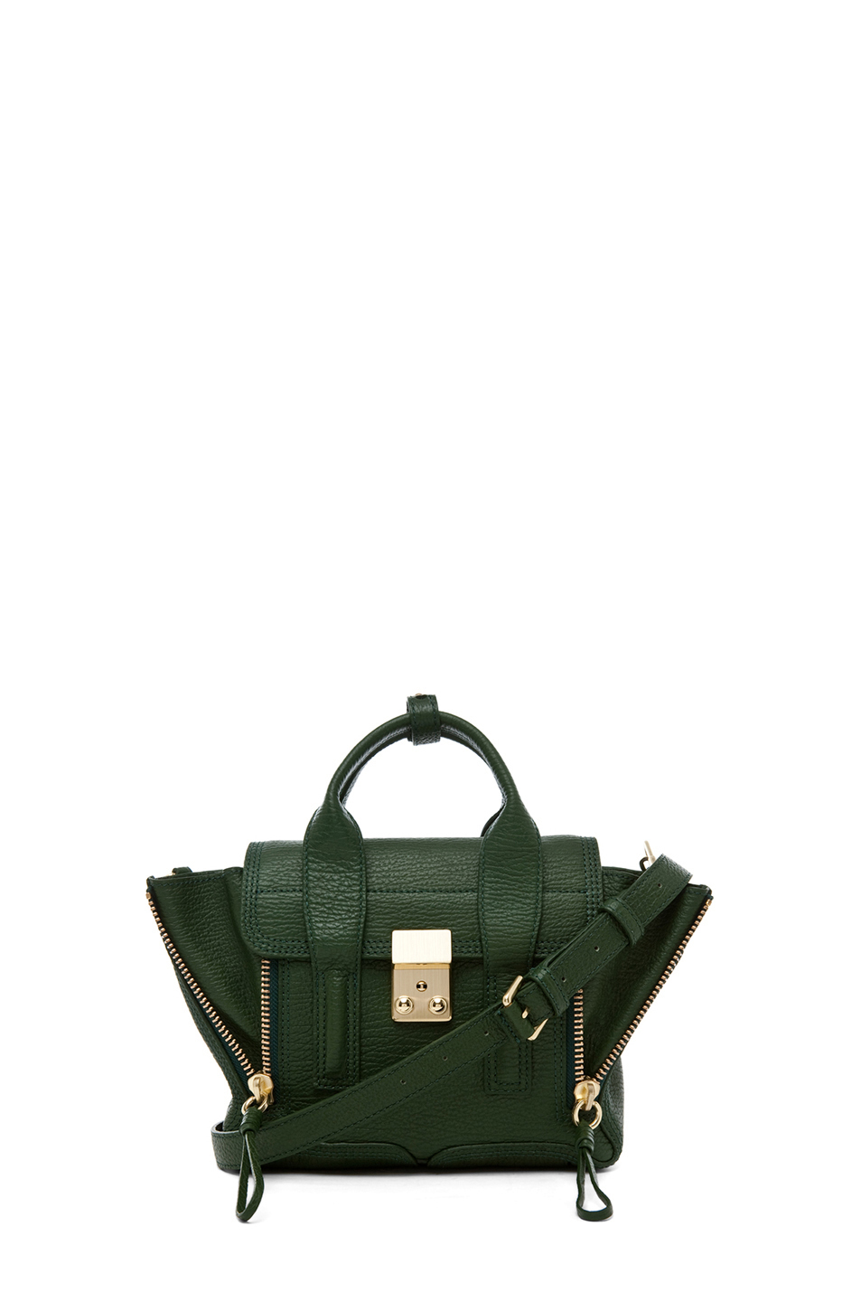 3.1 phillip lim|Mini Pashli Satchel in Jade