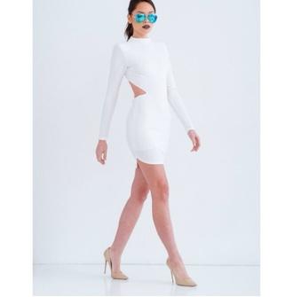 dress white dress pale grunge black dress