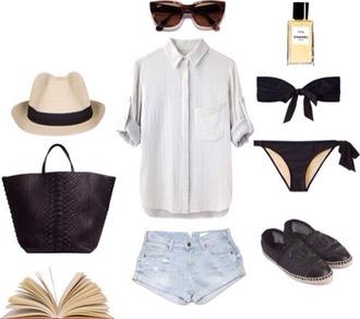 hat swimwear bikini bikini black bandeau black bow bikini perfect bikini black bikini