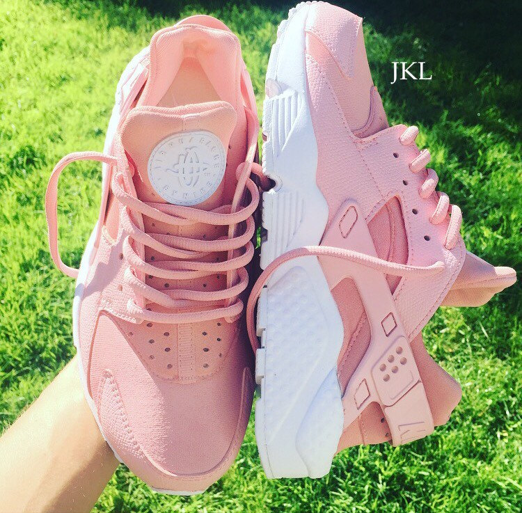 pretty nice 9a251 841dc Blush Pink Adults Baby Pink Rose Nike Air Huarache, Rosa Nik