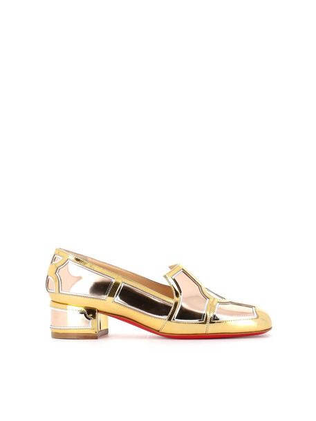 Christian Louboutin Loafer interior Flat in gold