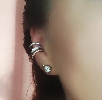 jewels ear cuff rose gold ring rose gold earrings ear piercings boho jewellery stores