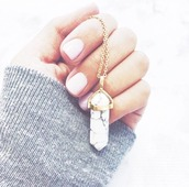 jewels,necklace,stone necklaces,marble,white,gold