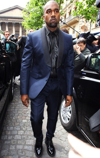 jacket bleu cuir