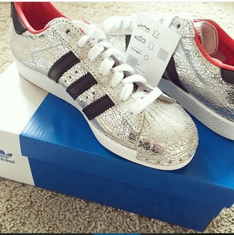 shoes adidas wings adidas sweater silver shiny red coat redheels