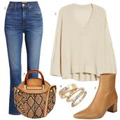 dailystylefinds,blogger,shoes,coat,jacket,sweater,blouse,t-shirt,jewels,fall outfits,ankle boots,round bag