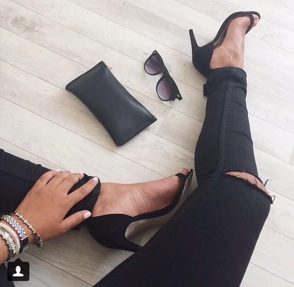 jeans black black jeans trendy