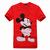 DG Round Neck Mickey Mouse T-shirt In Red [a396] - $35.00 : Disney Shoes,Disney T Shirts,Disney Hats,Disney Luggage,Disney Backpack | DisneyOcean.com