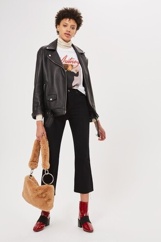 jeans flare jeans flare cropped black