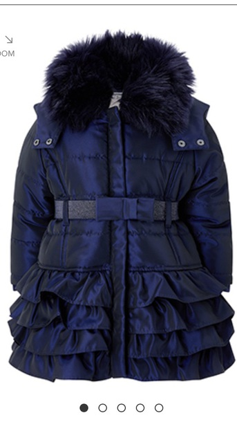 coat ruffle winter coat monsoon style jacket