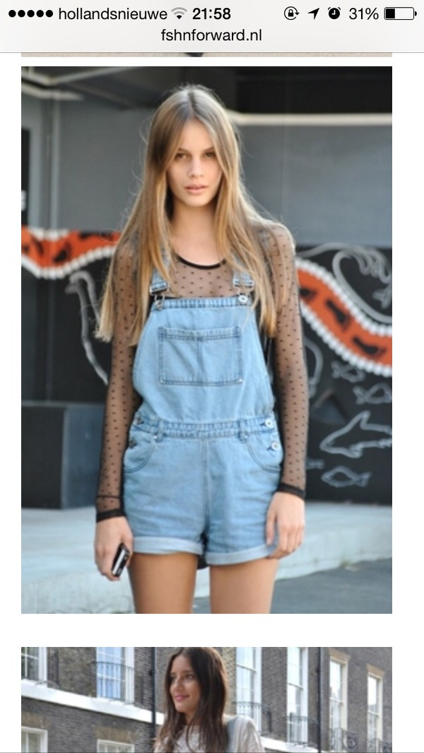 jumpsuit denim dungarees short overalls