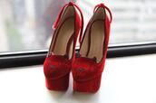 shoes,cats,velvet,high heels,charlotte olympia,velvet shoes