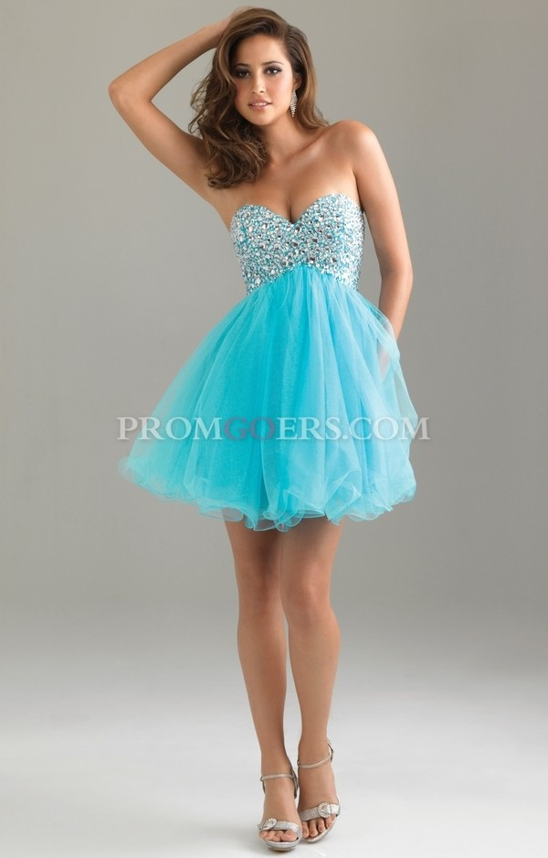 dress tulle prom dress homecoming dress cocktail dress grad dress promgoers.com short ptom dress blue dress
