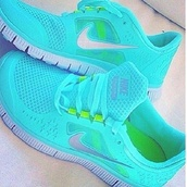 shoes,nike turquoise,nike running shoes,nike shoes