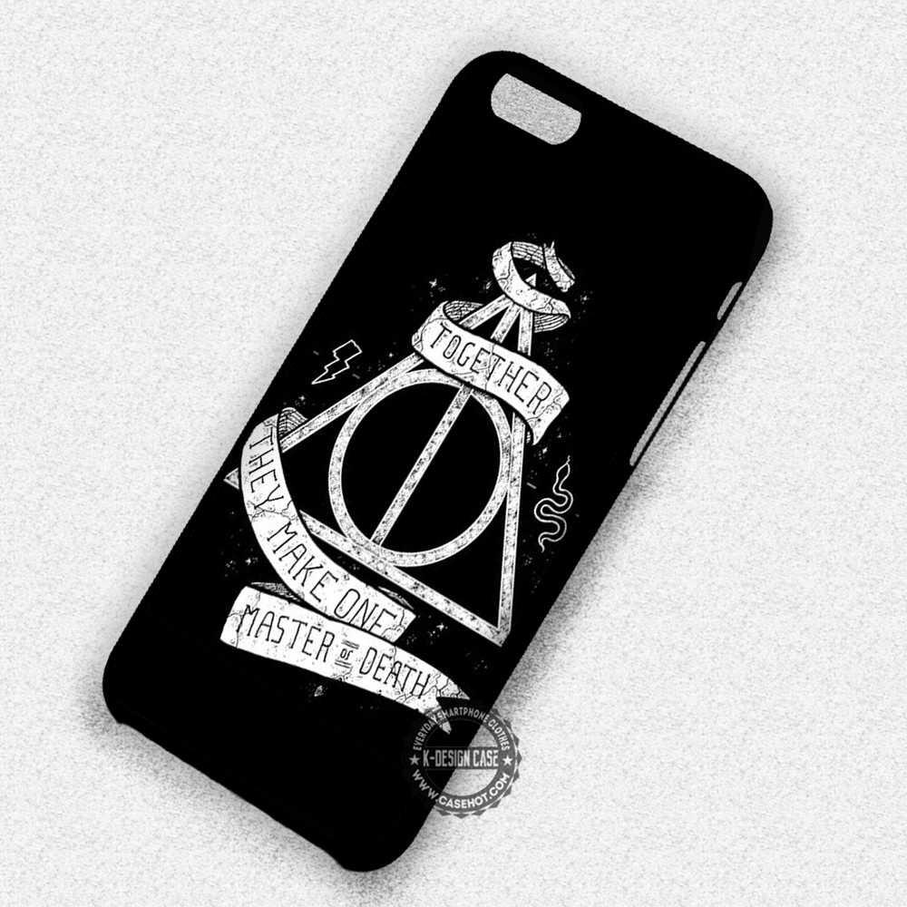Deathly Hallows Harry Potter Master Of Death - iPhone 7 6s 5c 4s SE Cases & Covers