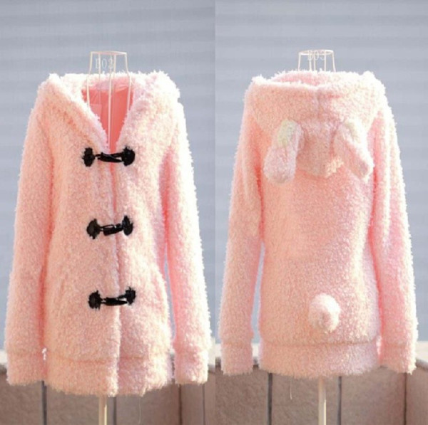 coat kawaii pink cute