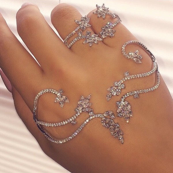 Doubly Linked Knuckle Ring