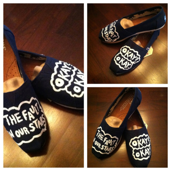 shoes the fault in our stars the fault in our stars okay? okay the fault in our stars the fault in our stars john green tfios shoes