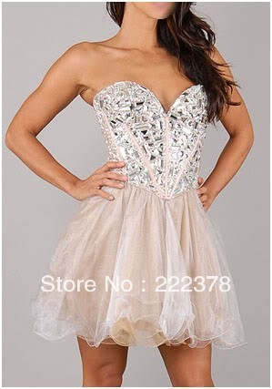 2013 Stock Mini Prom Dress Free Shipping Size 6 8 10 12 14 16-in Prom Dresses from Apparel & Accessories on Aliexpress.com