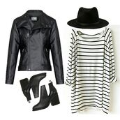 swimwear,bikini luxe boyfriend tunic,tunic,boyfriend,white,black,stripes,black and white,white tunic,striped tunic,black tunic,black shirt,white shirt,comfy,comfy t,lounge,lazy day,striped shirt,striped t shirt,striped loungewear,striped dress,striped top,top,dress,casual,hat,jacket,boots,fashion,black jacket,grey shirt,black striped shirt,white striped shirt,summer,funny,love,cute,hot,black leather jacket,cut out ankle boots