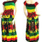 Bob marley women maxi dress long dress gypsy dress boho hippie dress summer beach dress party dress ...#pdk0133
