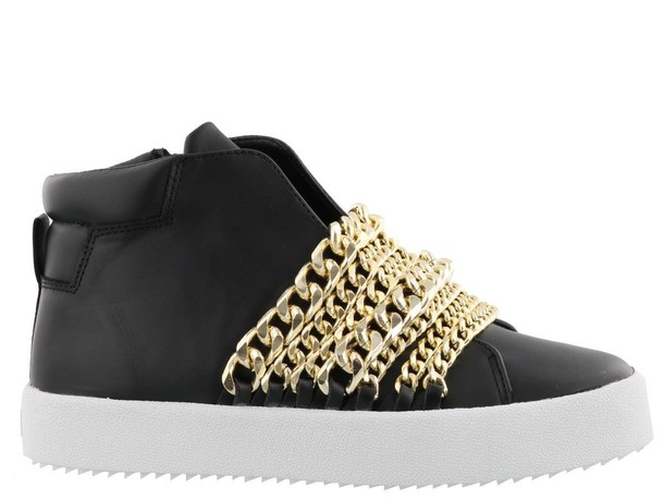 KENDALL + KYLIE sneakers gold black shoes