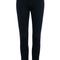 Romwe   high-waist black skinny jeans, the latest street fashion