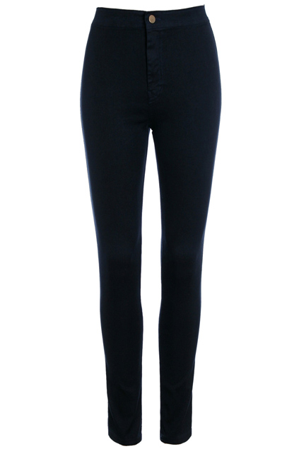 ROMWE | High-waist Black Skinny Jeans, The Latest Street Fashion