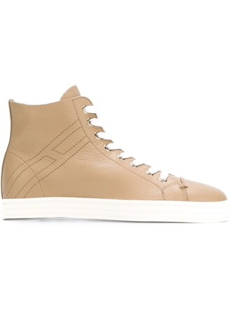 sneakers lace nude shoes