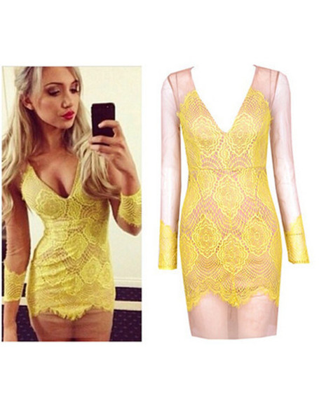 wow wedding clothes see through night day evenng evening yellow model blogger
