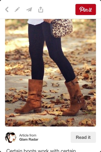 shoes brown mid-calf mid calf boots buckles