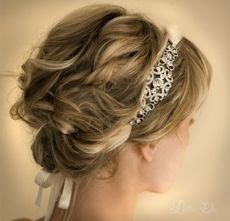 jewels hair band hair accessory headband wedding accessories wedding hairstyles